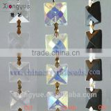 Fashion crystal bead chain glass bead curtain for hanging decoration