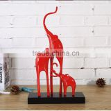 Polyresin elephant home decor for statues