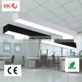 Ce RoHS approved, 36W hanging pendant office led light ,linear lighting for supermarkets, 2 years warranty