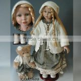 33 inch New Design High quality vinyl Collectable Standing Country Girl Doll Baby
