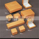bamboo real wooden jewelry boxes