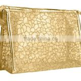 Wholesale glitter PVC cosmetic bag with various colors