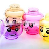 plastic christmas candy jar, Romantic design Love Heart shape hot sell plastic candy jar