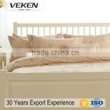 veken products ODM welcome glossy 320TC 60S*60S density173*140 printed king bedding sheet