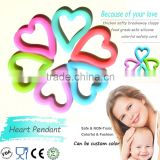 Food Grade BPA Free baby teething dummy clips wholesale
