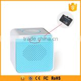 mini rectangle bluetooth speaker support TFcard