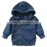 Boys Winter outdoor sports hooded jeans jacket waterproof