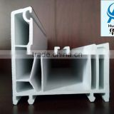 Customized Extrusion Plastic PVC Profiles used as building material making window and door frame