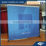 L type stand jumbo banner stand
