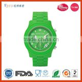 2014 hot saling fashion silicone man watch
