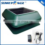 New Square 14inch With battery solar fan and explosion proof ventilation fan