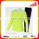 Hot sale practice jerseys soccer comfortable football shirt and shorts dry fit 100%polyester football soccer uniform set