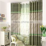 2015 new style hot selling beautiful 100% polyester luxury jacquard curtain