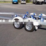 hot dip galvanizing i-beam tandem axles boat trailer for sale