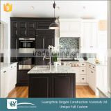 2015 modular cheap kitchen color combinations cabinets with granite counter top in dubai
