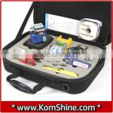 KomShine KFH-13 Basic Fiber Optic Tool Kit Glasvezel Test Assembly Optical Power Meter / VFL / Fiber Cleaver Ect