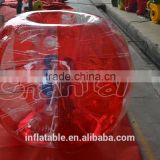 2016 high quality CE Dia 1.2m/1.5m/1.7m bumper ball/inflatable knock ball/bumper bubble football                                                                                                         Supplier's Choice