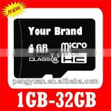 low cost class 4 TF/micro sd memory card 2GB/4GB/8GB