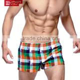 Hot fasihon comfortable woven cotton household men boxer short 1501-LG