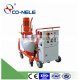 Fully Automatic Wall Plastering Machine Portable and small slurry pump mortar spraying machine with mixer hopper
