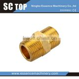 Factory Directly Provide Distinctive low price brass parts copper pipe flare fitting tube connector BBC metal fitting