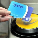 contactless passive card RFID/860-960mhz car parking rfid smart cards from factory FOB Price