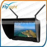 C818 7 inch 1024X600 HD FPV TFT LCD Monitor FPV Aerial Photography with Sunhood and Battery for DJI