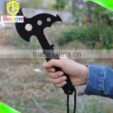 New arrival all stainless steel outdoor camping BBQ military survival tool hatchet for breaking window car emergency
