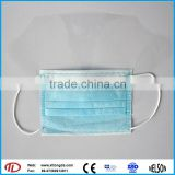 disposable face mask with eye-shield