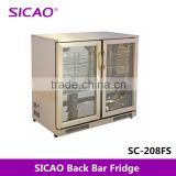 display beer cooler stainless steel material refrigerator for pepsi ,fridges for beverage/drinks/water