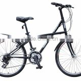 AiBIKE - BIG DOLPHIN - 24 inch 21 speed city cruiser