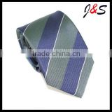 latest 100% silk woven stripe mens neck ties AST0432