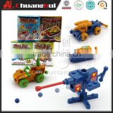 Wholesale Tank Vehicles Building Block Toys (can add candy)