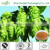 Hops flower extract powder botanical extract food supplement