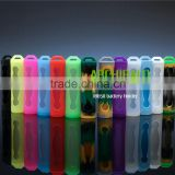 18650 silicone battery cases silicone cases for 18650 battery holder charger silicone sleeves