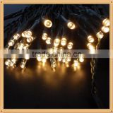 Brand new Free Shipping Outdoor waterproof decoration lights Solar power led copper wire string lights
