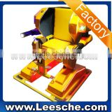 CE proved new model portable amusement ride arcade game machine walking robot ride
