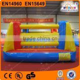 Outdoor custom logo boxing equipment,Inflatable thai Boxing Ring,sports equipment for kids