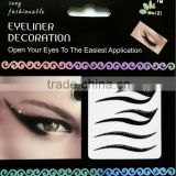 2015 HOT Sell Gold and Silver Metallic Tattoo Temporary Tattoo Sticker Eye Shadow Sticker