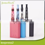 Stock in USA, disposable e cig blister kit aa battery power ce4 dual coil atomizer replaceable