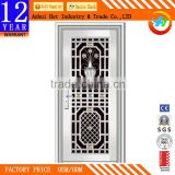 New Modern Vase Carving Stainless Steel Grill Door Design Factory Direct Price Of Stainless Steel Door Frame For Entry Home Door