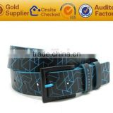 Customized Logo Black Stock Cow Leather Calssic Mens Belts