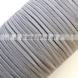 1/8 Elastic bands 2mm Black Elastic Cords String Headbands Wristbands Silver Skinny Elastic