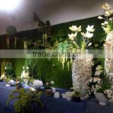 Hot boutique Cheap Wedding stage backdrop wedding flower wall