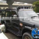 Car fender parts Pajero V31 V32 fiberglass fender flares for Mitsubishi Pajero