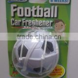 promotional world-cup PU ball freshener with net and cupula