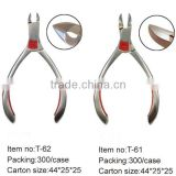 Professional stainless steel nail nippers for push remover