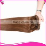 Stainless Steel Wig Clip In Hair Top Grade Gorgeous Different Colors Clip Hair Extension