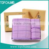 Luxury Hotel & Spa 100% Cotton bath towel set softtextile,gift towel set packing,kitchen towels set
