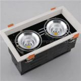 2*40W LED Grille Downlight